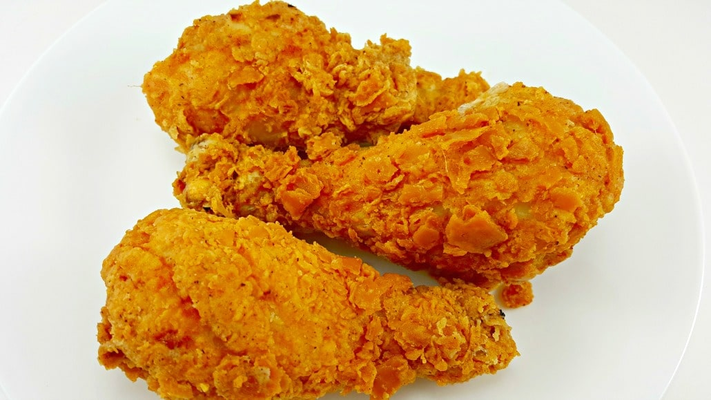 Crispy Fried Chicken for Two, delicious!