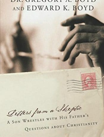 picture of the book cover for Letters from a Skeptic book