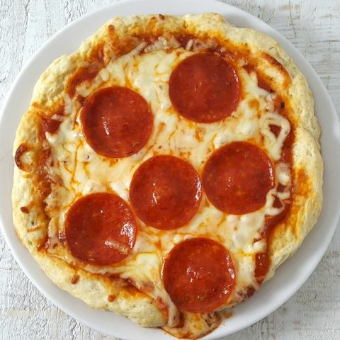 No Yeast Pizza Dough for One Recipe - serves 1