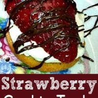 Strawberry Cookie Tarts Small Batch Recipe for Two