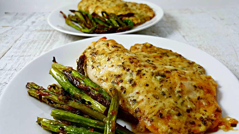 Tilapia Parmesan for two - bake or broil