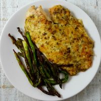 Tilapia Parmesan - serves 2