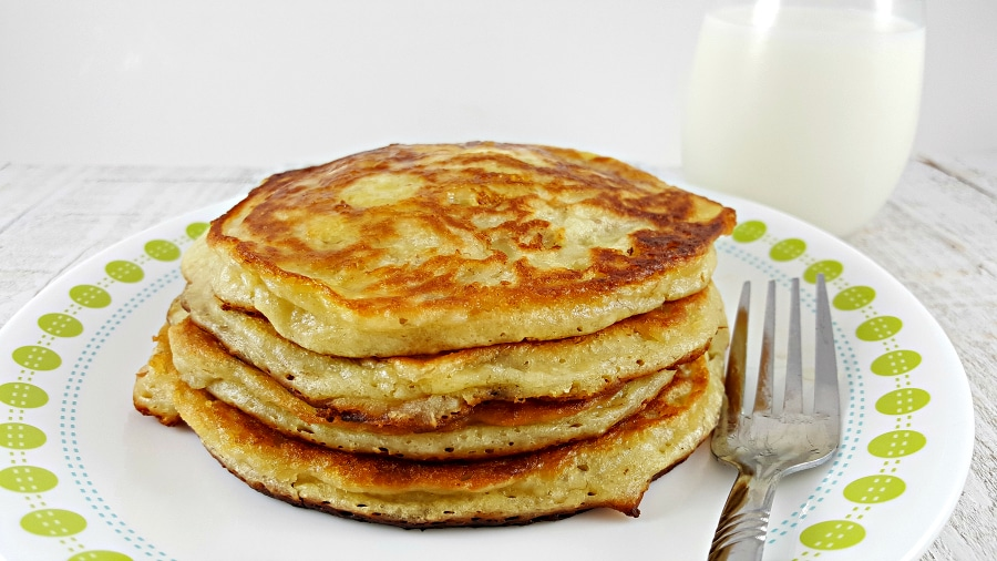 Fluffy Pancakes for Two - perfect breakfast, lunch or dinner for two