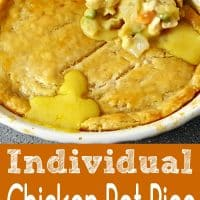 Individual Chicken Pot Pies for Two