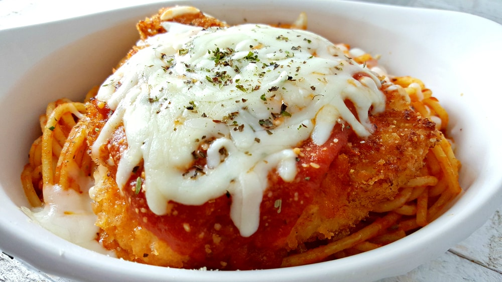 Easy chicken parmesan recipe romantic dinner for two zona cooks chicken parmesan forumfinder Image collections