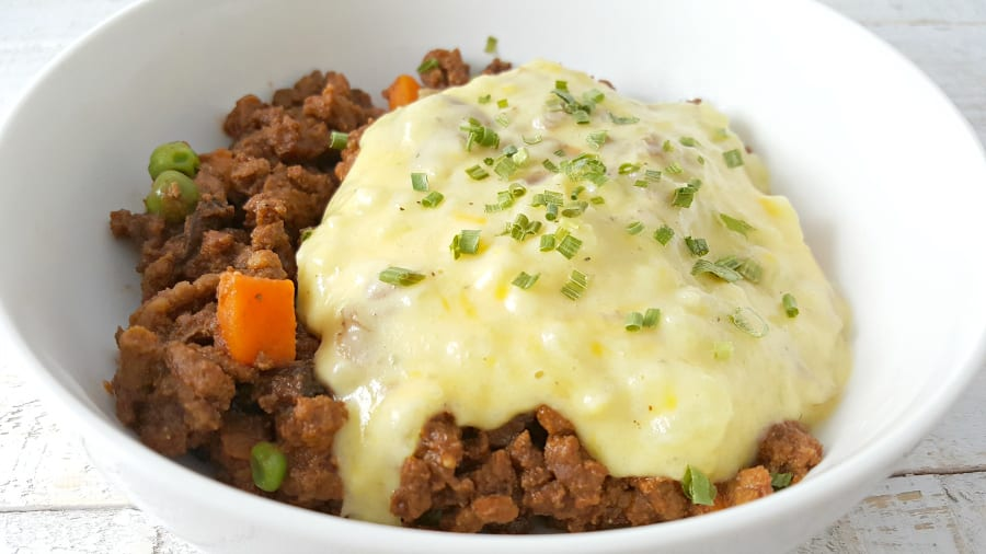 Crockpot Shepherd's Pie for Two Recipe - comfort food, yum!