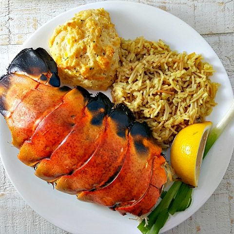 Grilled Lobster Tails Recipe for Two - serves