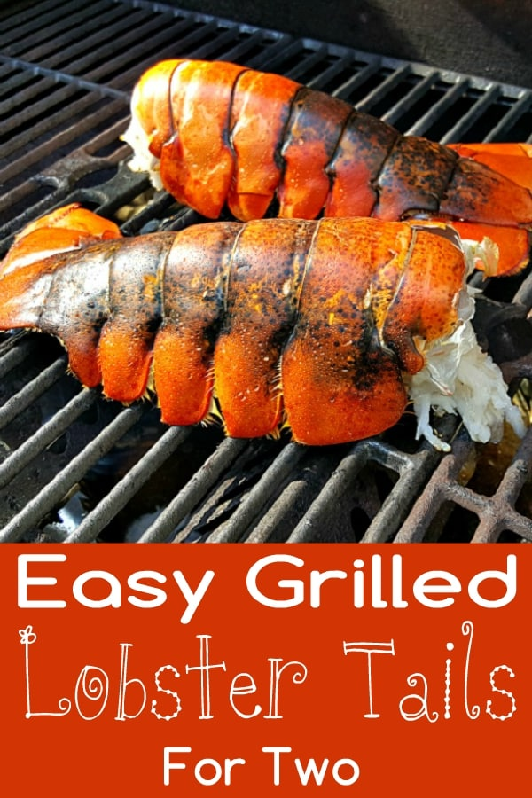 Grilled Lobster Tails Recipe for Two