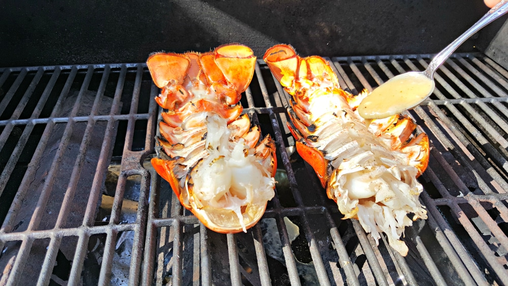 Grilled Lobster Tails Recipe for Two • Zona Cooks