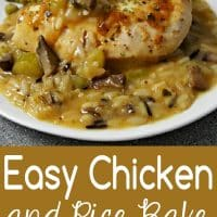 Easy Chicken and Rice Bake Recipe for Two