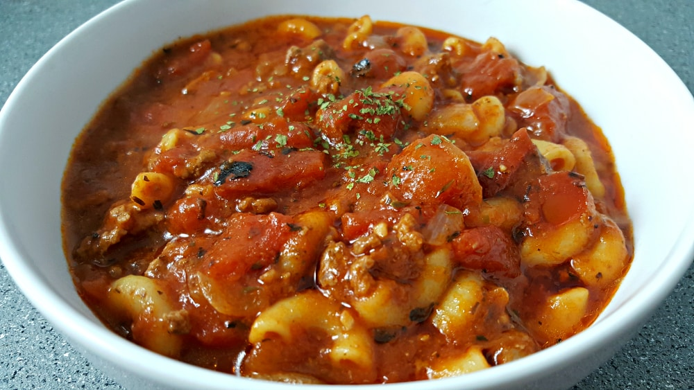 Easy One Pot American Goulash