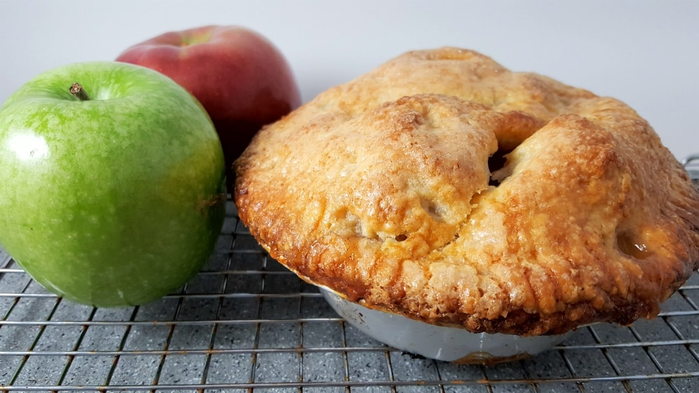 Homemade Pie Crust Recipe Single or Double - delicious, flaky and golden brown