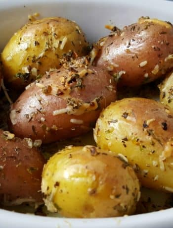 Roasted Fingerling Potatoes Recipe - delicious side dish for two