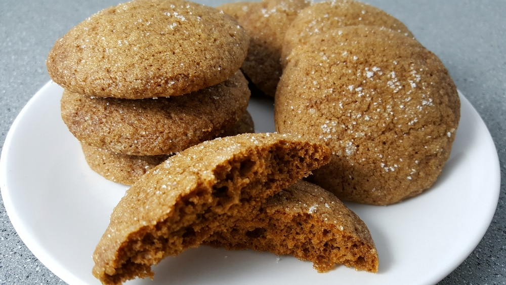 Soft Gingerbread Cookies Small Batch Recipe - soft batch cookies, delicious, quick and easy!