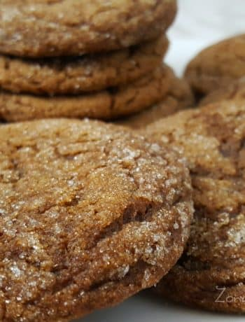 Soft Gingerbread Molasses Cookies Recipe - perfect size small batch