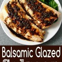 Balsamic Glazed Salmon Recipe for Two
