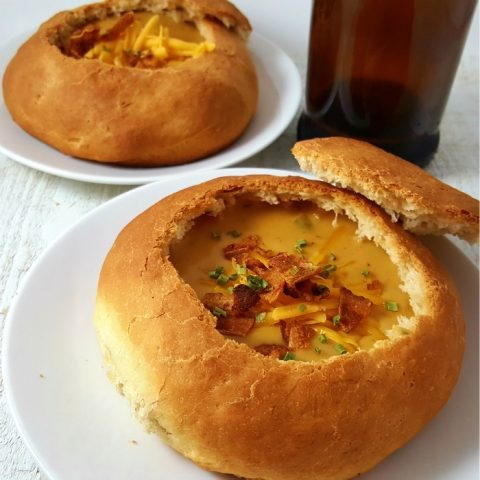 Cheddar Beer Soup Small Batch Recipe