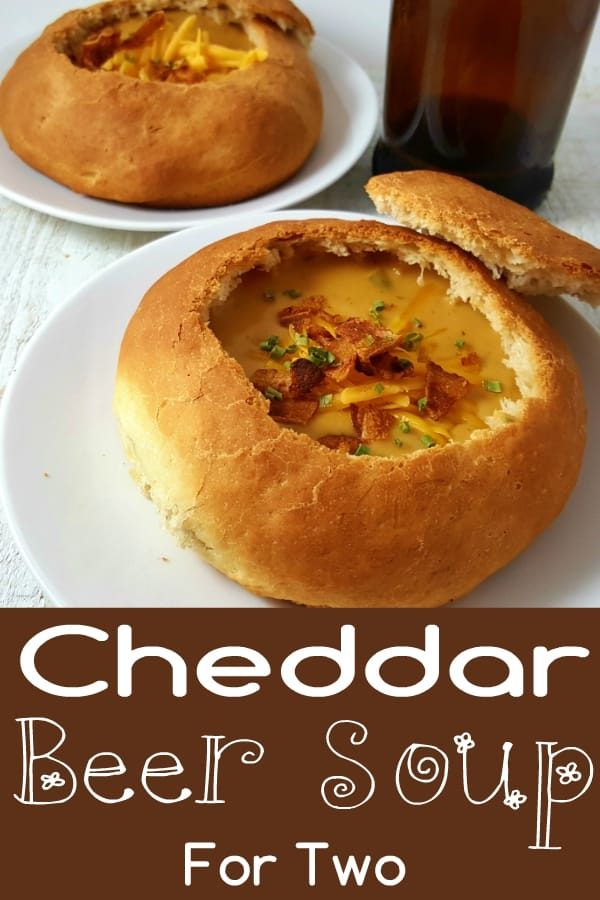Cheddar Beer Soup Small Batch Recipe for Two