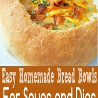 Easy Homemade Bread Bowls Recipe for Two