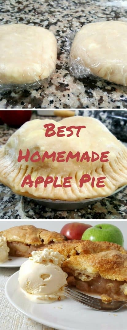 Best Homemade Apple Pie Small Batch for Two #homemade #ApplePie #SmallBatch #DessertForTwo #dessert #apple