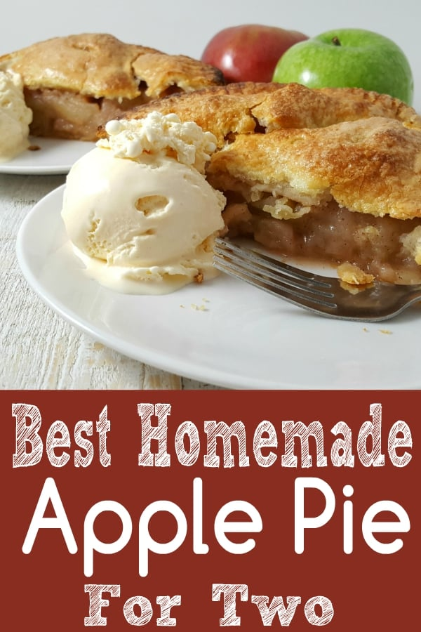 Homemade Apple Pie Recipe for Two