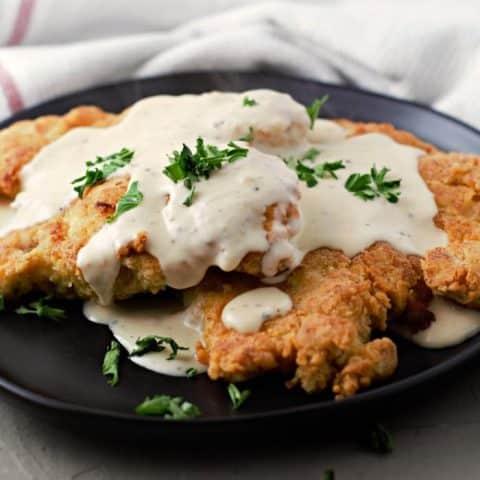 Chicken Fried Chicken and Gravy