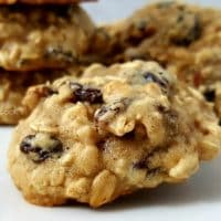 Soft Batch Oatmeal Raisin Cookies Recipe - small batch ready in 45 minutes