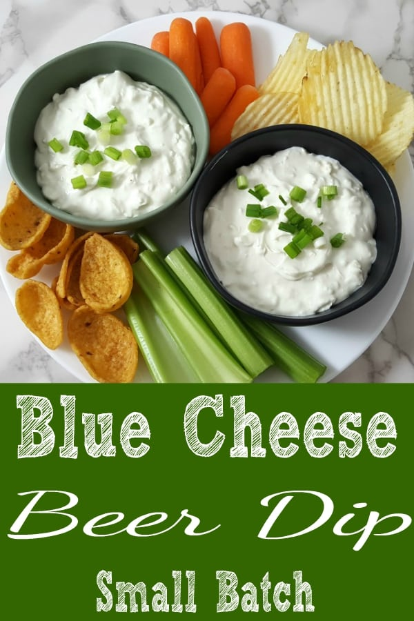 Blue Cheese Beer Dip Small Batch Recipe for Two