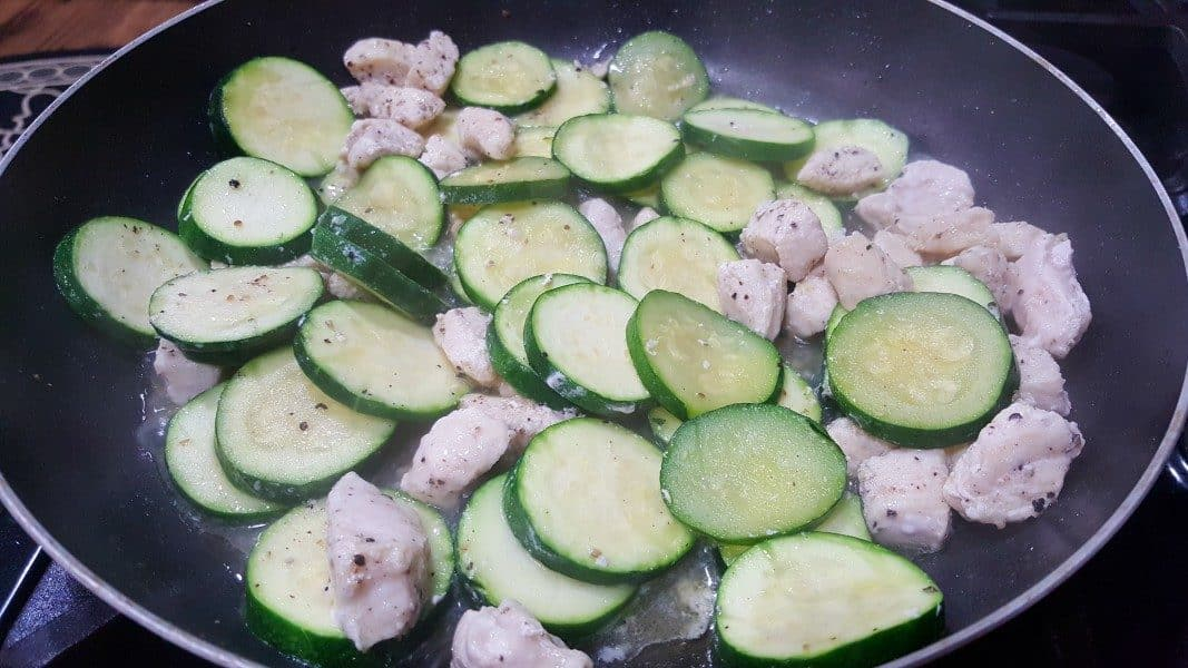 Chicken Zucchini Bake Low Carb Recipe For Two Zona Cooks