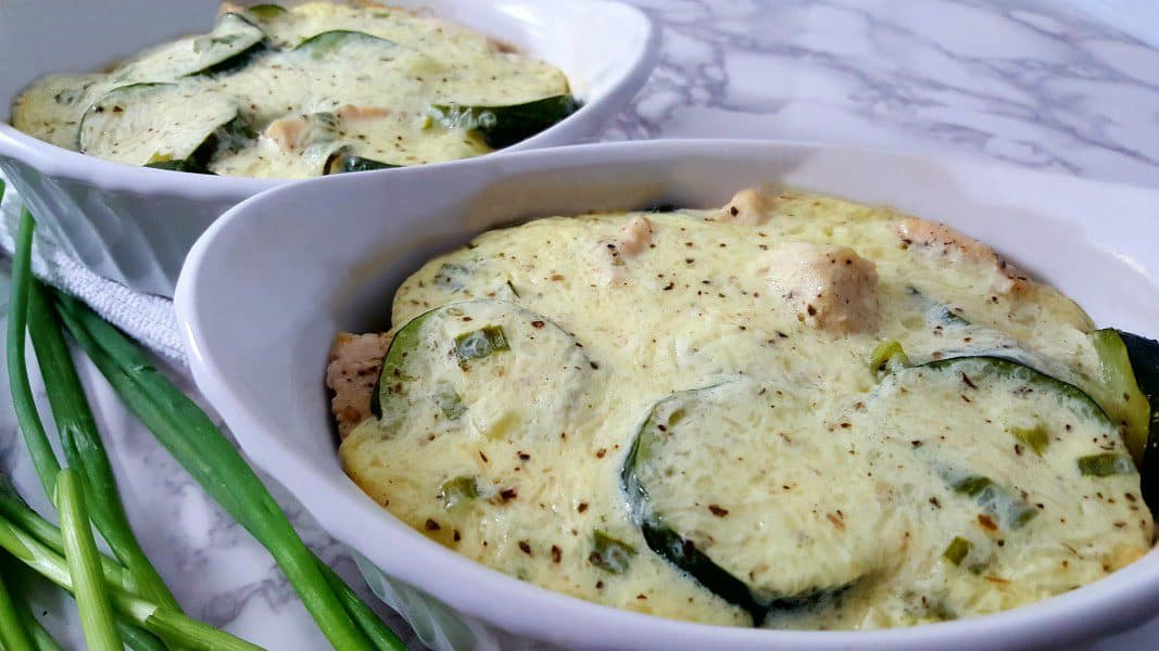 Chicken Zucchini Bake Low Carb