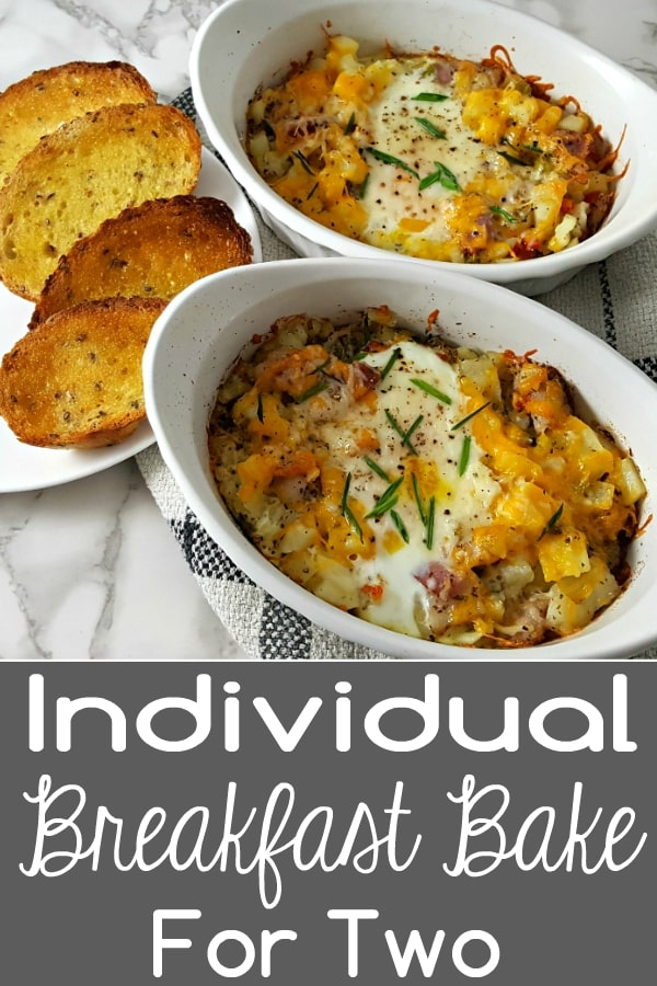 Individual Breakfast Bake Recipe for Two