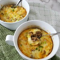 Individual Mexican Casseroles Recipe - serves 2