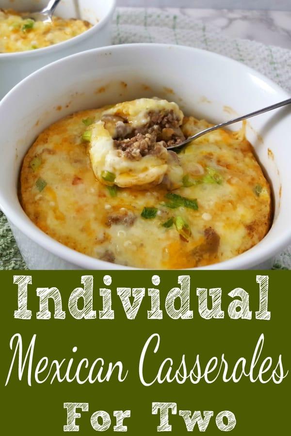 Individual Mexican Casseroles Recipe