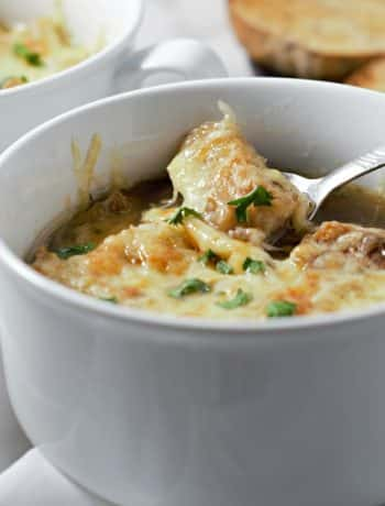 Crockpot French Onion Soup Recipe For Two - small batch