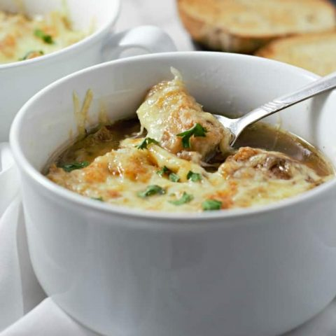 Crockpot French Onion Soup Recipe For Two - serves 2