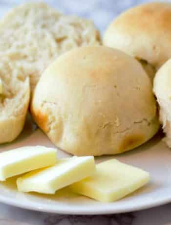 Dinner Rolls Small Batch Recipe - homemade and buttery