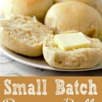 Dinner Rolls Small Batch Recipe