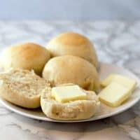 Dinner Rolls Small Batch Recipe - makes 4