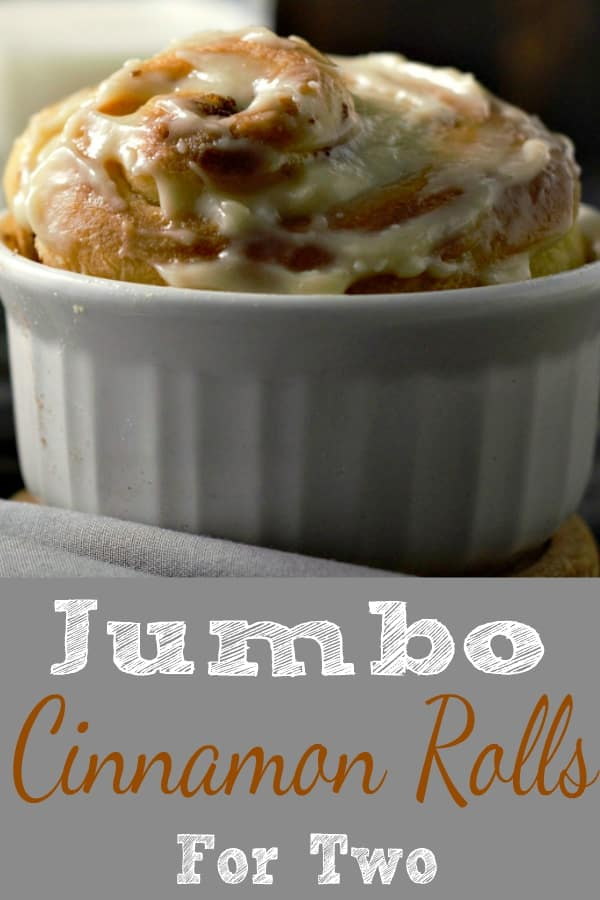 Jumbo Cinnamon Rolls Recipe For Two