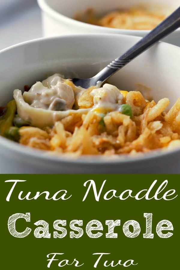 Tuna Noodle Casserole Recipe for Two