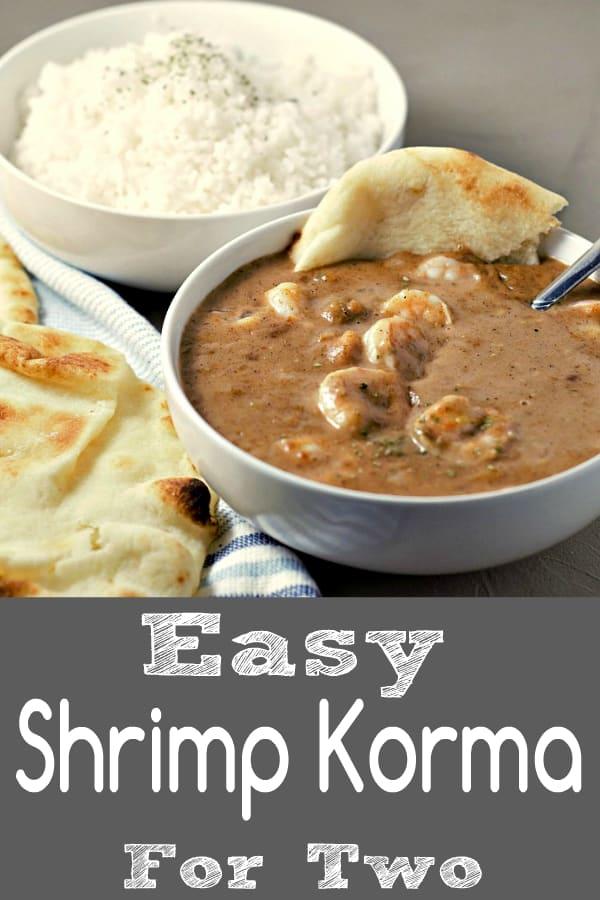 Easy Shrimp Korma Recipe for Two