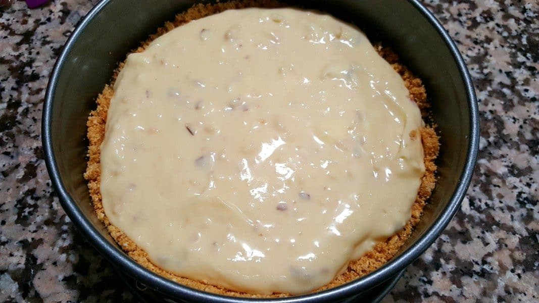 White Chocolate Almond Amaretto Cheesecake Recipe Zona Cooks
