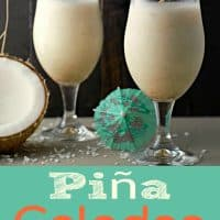 Pina Colada Recipe for Two