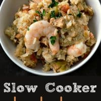 Slow Cooker Jambalaya Recipe for Two