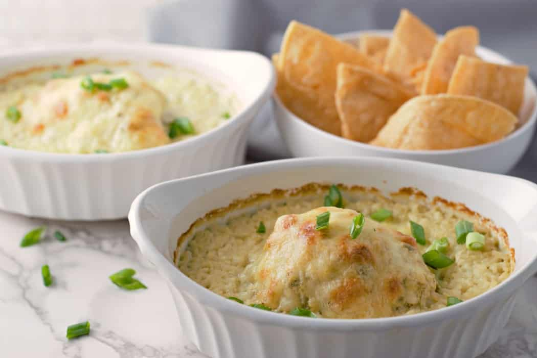 Green Chile Chicken and Rice Casseroles