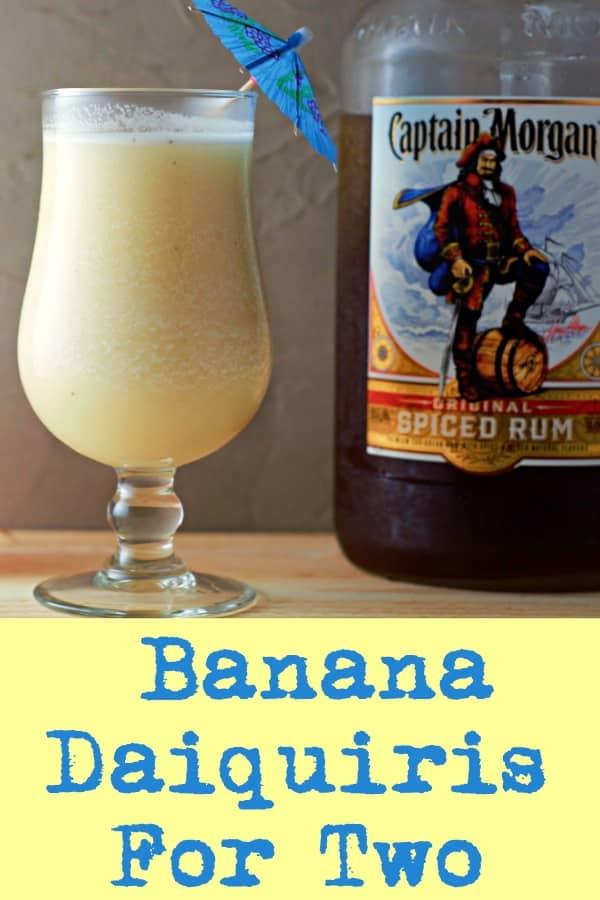 Banana Daiquiri Recipe for Two