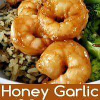 Honey Garlic Shrimp Recipe for Two