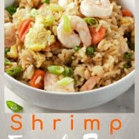 Shrimp Fried Rice Recipe for Two