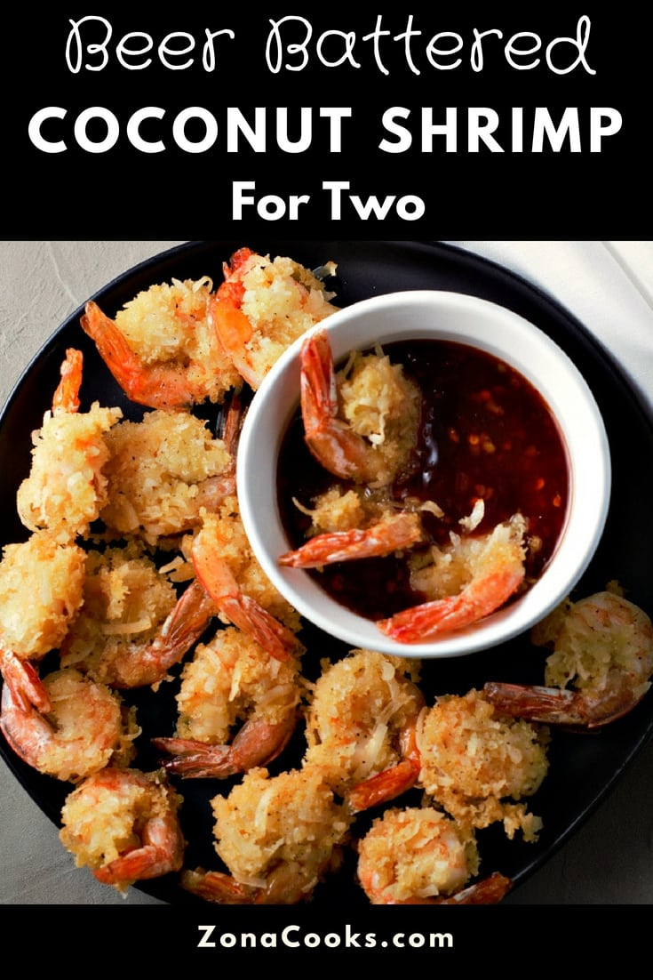 Beer Battered Coconut Shrimp Recipe for Two