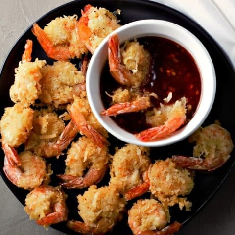 Beer Battered Coconut Shrimp Recipe serves 2